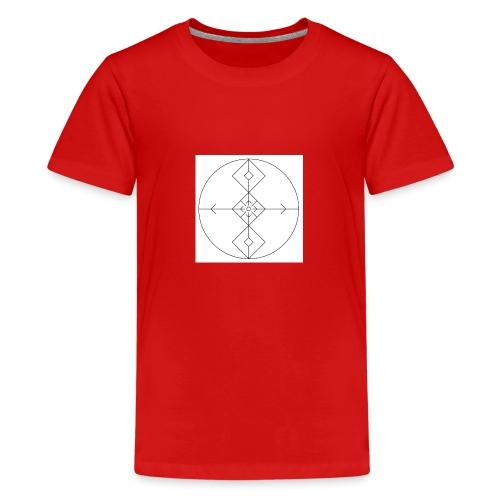 I release family karma now. - Premium T-skjorte for tenåringer
