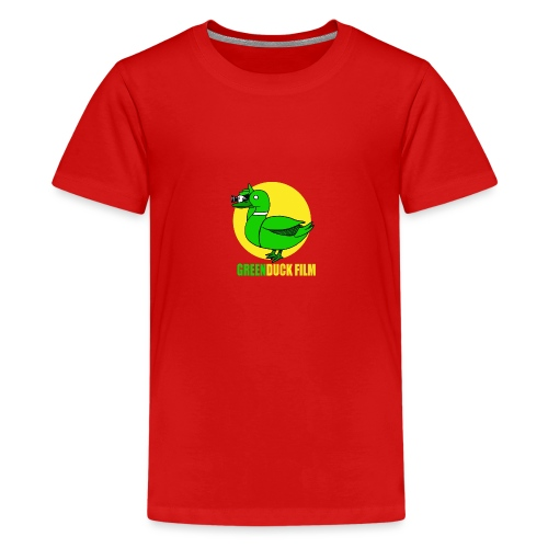 Greenduck Film In the Sun Logo - Teenager premium T-shirt
