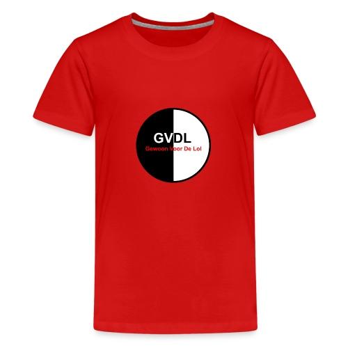 GVDL Logo - Teenager Premium T-shirt