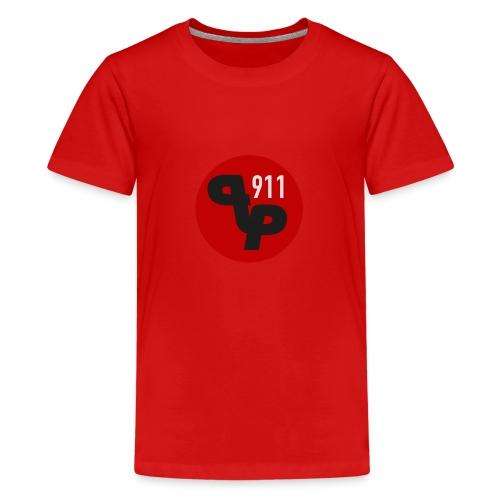 PP911 official logo - Teinien premium t-paita