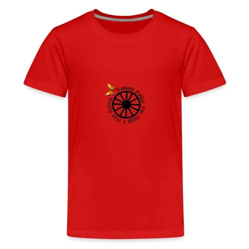 LennyhjulRomaniFolketisvartfjaerli - Premium-T-shirt tonåring