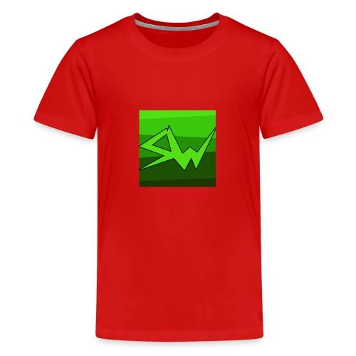 SoupWizard Logo - Teenage Premium T-Shirt