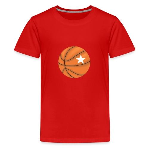 Basketball Star - Teenager Premium T-shirt