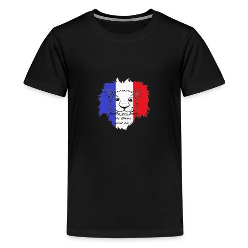 Lion supporter France - T-shirt Premium Ado