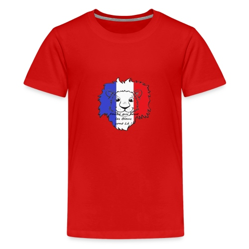 Lion supporter France - T-shirt Premium Ado