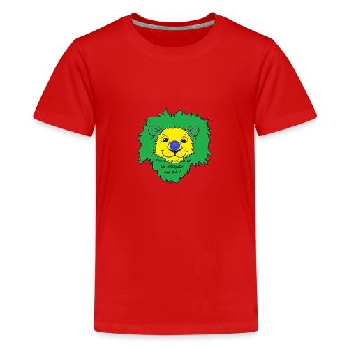 Lion supporter Brésil - T-shirt Premium Ado