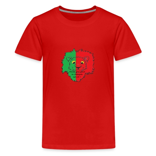 Lion supporter Portugal - T-shirt Premium Ado