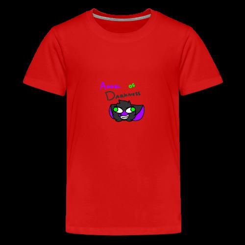 Angel Of Darkness - Teenage Premium T-Shirt