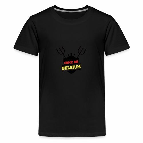 Come On Belgium - T-shirt Premium Ado