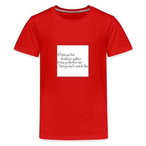 babies clothes - Teenage Premium T-Shirt