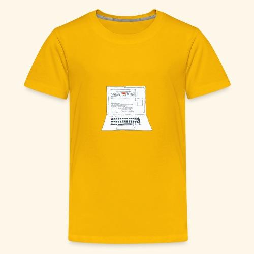 Laptop 20CENT Retail - T-shirt Premium Ado