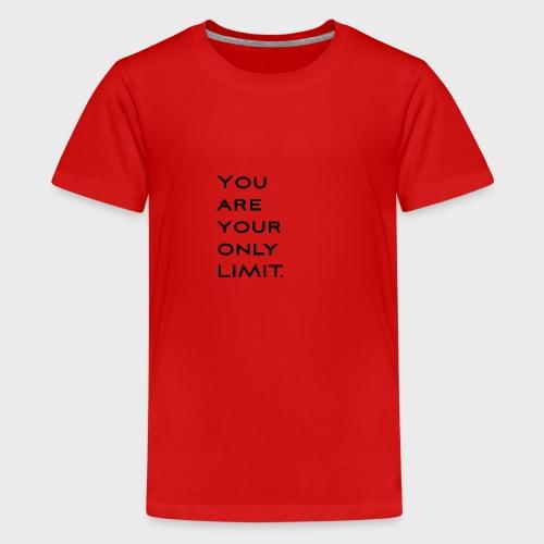 Limit Black - Teenager Premium T-Shirt