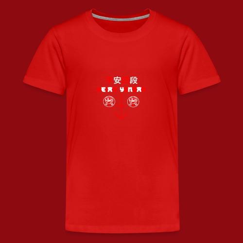 Heian Yondan - Shotokan Kata - Karate - Japan - Teenager Premium T-Shirt
