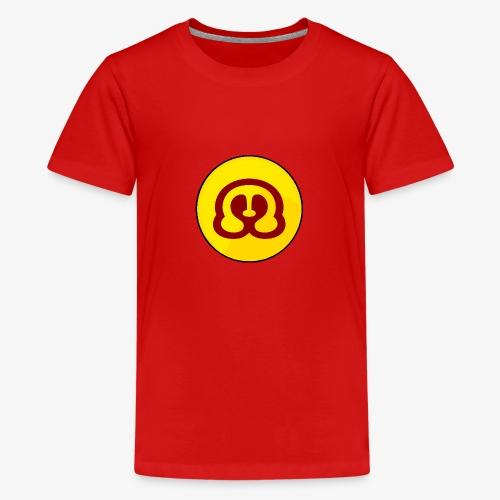 MadGamerNL-BaseLogo - Teenager Premium T-shirt
