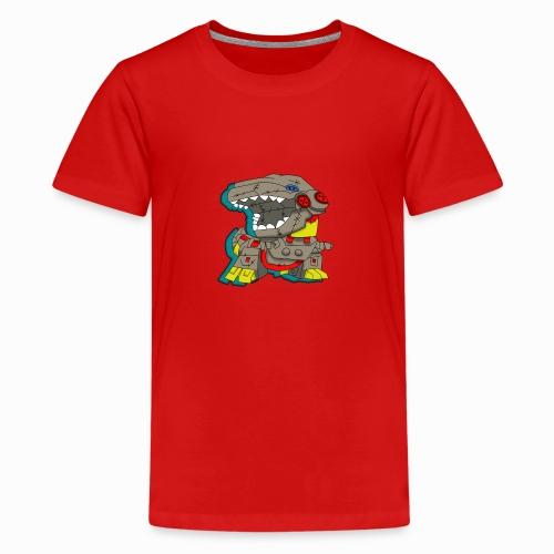 The Plushasaurus - Teenage Premium T-Shirt