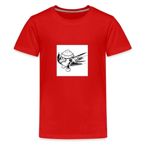 citron dab noir et blanc - T-shirt Premium Ado
