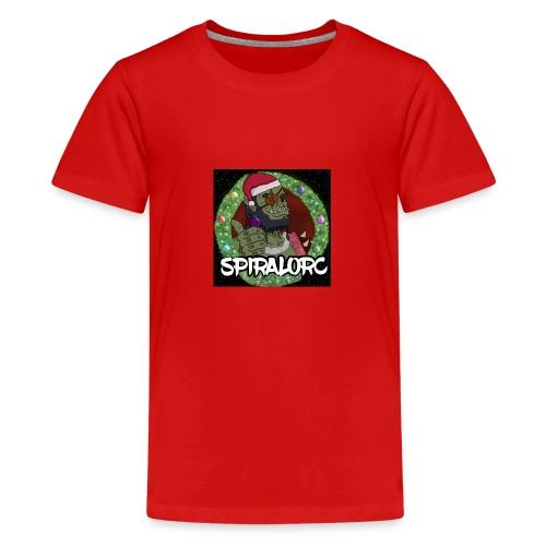christmas logo - Teenage Premium T-Shirt