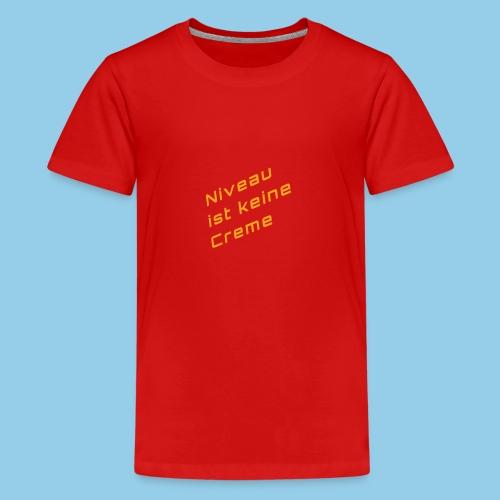 level - Teenage Premium T-Shirt
