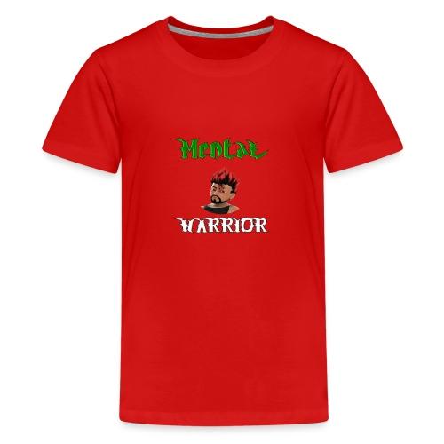 DemonicGamingUK Mental Warrior - Teenage Premium T-Shirt