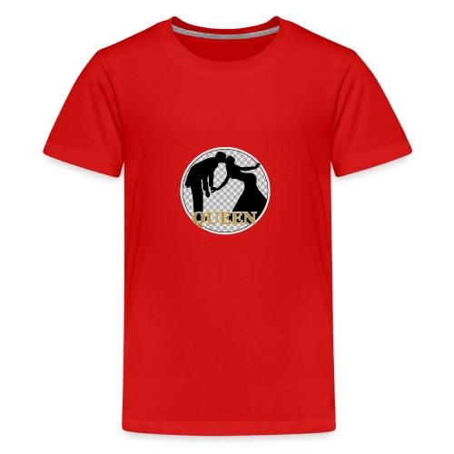 Queen mit Paar - Teenager Premium T-Shirt