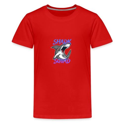 Shark Squad - PowerMEGAL0D0N - T-shirt Premium Ado