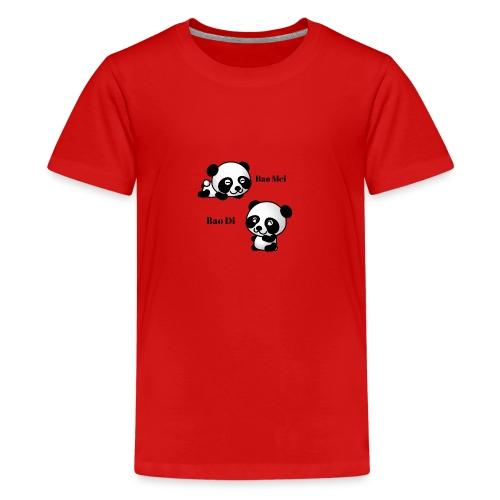 Bao Di Bao mei les petits pandas - T-shirt Premium Ado