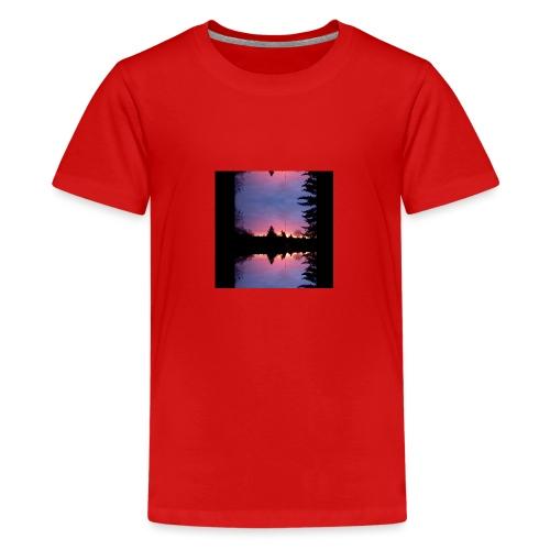 Gott ist Gut - Morgenrot - Teenager Premium T-Shirt