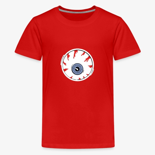 I keep an eye on you / Auge - Teenager Premium T-Shirt