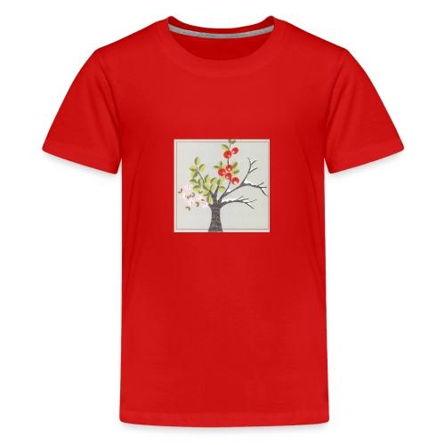 Die vier Jahreszeiten. Frühling bis Winter - Teenager Premium T-Shirt