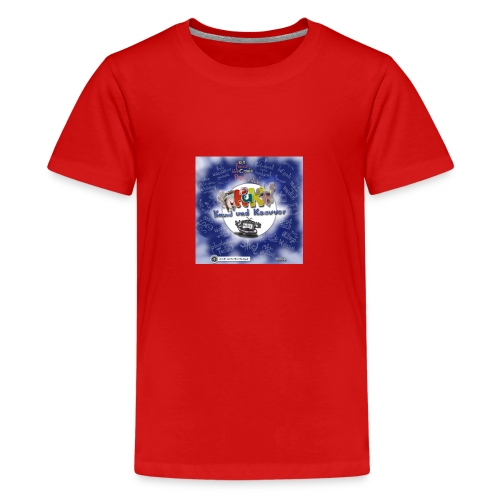Web-Comic-Projekt Knuud und Ksavver - Teenager Premium T-Shirt