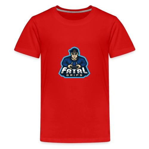 Fatal Grips Merch - Premium-T-shirt tonåring