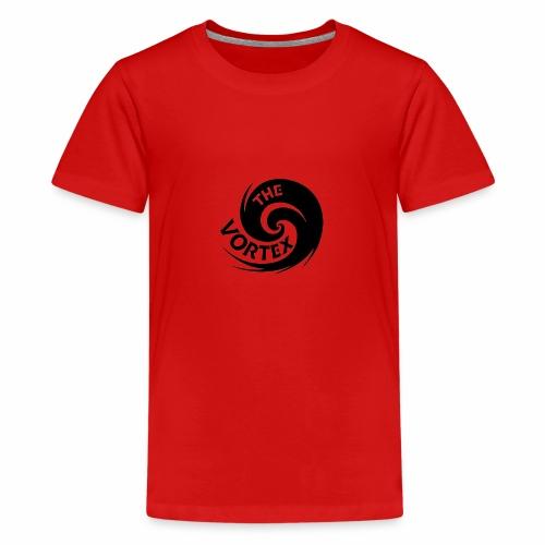 vortex logo no background - Teenage Premium T-Shirt