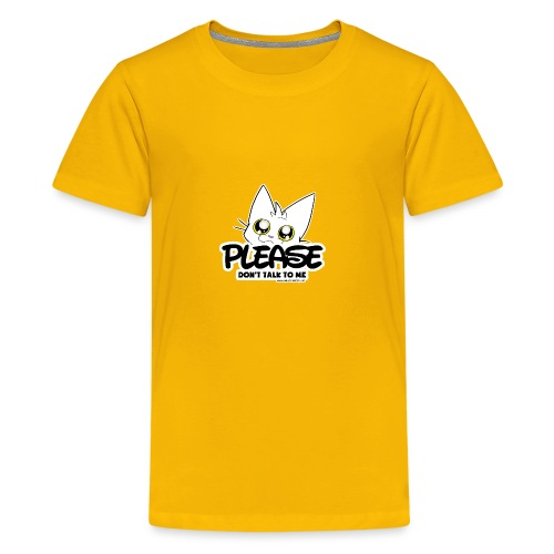 Please Don't Talk To Me - Teenage Premium T-Shirt