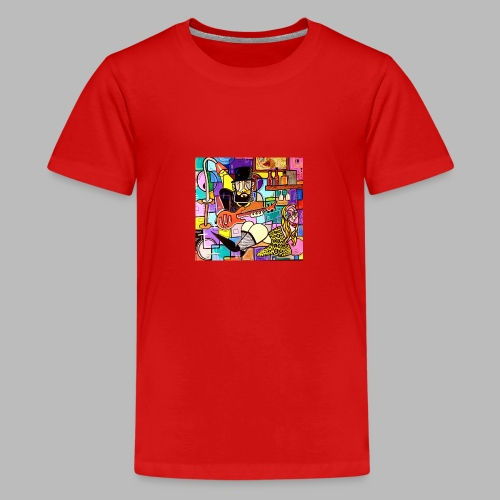 Vunky Vresh Vantastic - Teenager Premium T-shirt