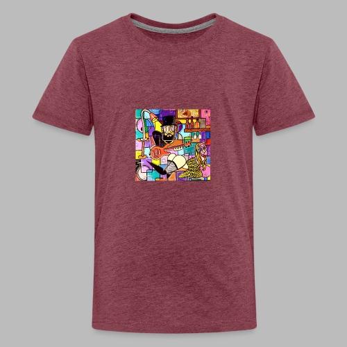Vunky Vresh Vantastic - Teenager Premium T-shirt