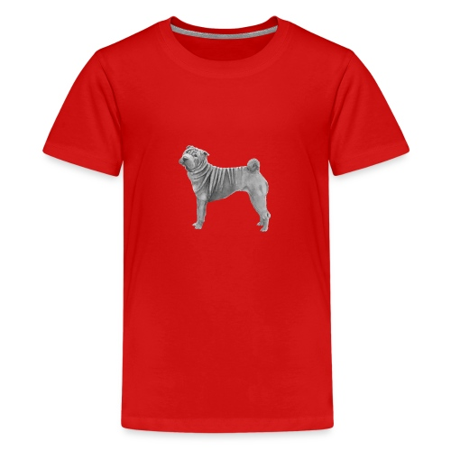 shar pei - Teenager premium T-shirt