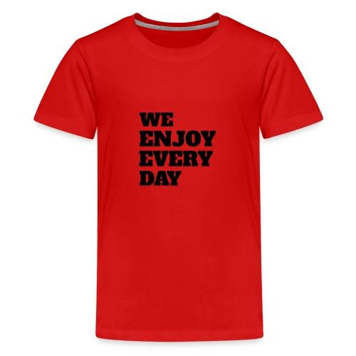 Enjoy - T-shirt Premium Ado