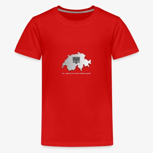 Schweiz & Albanien WM Shirt - Teenager Premium T-Shirt