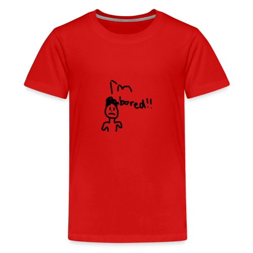 Im Bored Merch - Teenage Premium T-Shirt