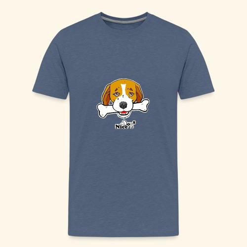 Nice Dogs Semolino - Maglietta Premium per ragazzi