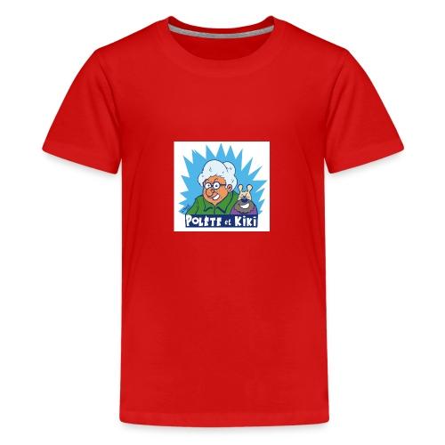 tshirt polete et kiki 1 - T-shirt Premium Ado