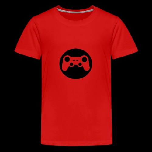 Zocker Prototype (Controller) Logo schwarz - Teenager Premium T-Shirt