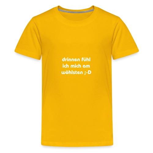 lustiger perverser text - Teenager Premium T-Shirt