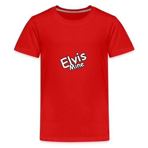 ElvisMineS - Premium-T-shirt tonåring