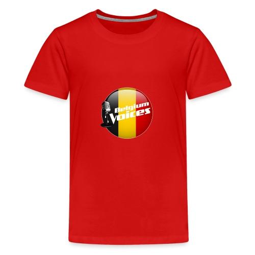 Je soutiens Belgium Voices - T-shirt Premium Ado