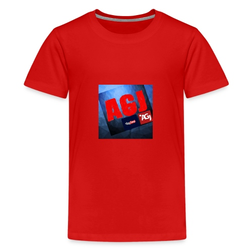 AGJ Nieuw logo design - Teenager Premium T-shirt