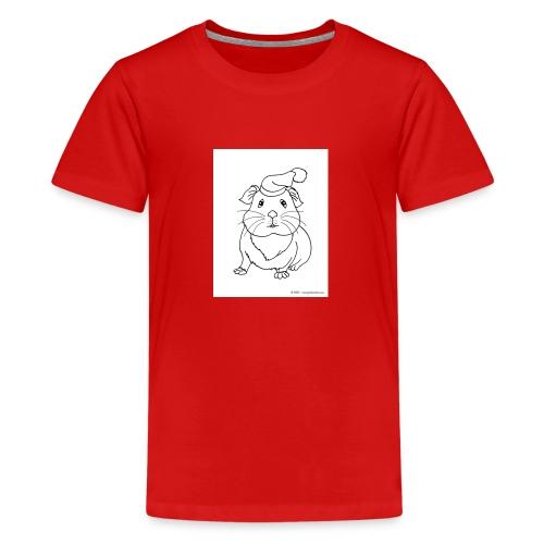 Hamster petite souris blanche guinea - T-shirt Premium Ado