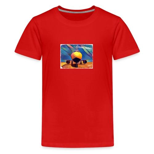 Loving planes - Camiseta premium adolescente