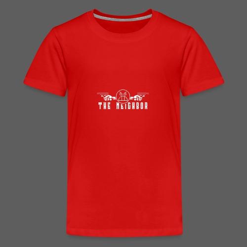 cool png 4k - Teenager Premium T-shirt