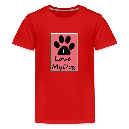 love dog 2 - Camiseta premium adolescente